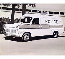 Ford Transit Mk.1 Police Van Photographic Print