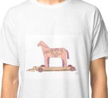 Pink Rocking Horse Classic T-Shirt