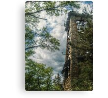 Side view of Ryecliff Lookout Tower Canvas Print