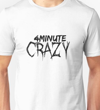 4minute - CRAZY (Simple Ver.) Unisex T-Shirt