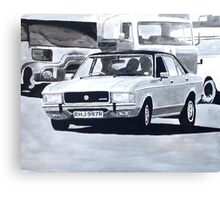 'The Sweeney' Ford Granada 3.0 Ghia Canvas Print