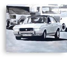 'The Sweeney' Ford Granada 3.0 Ghia Canvas Print