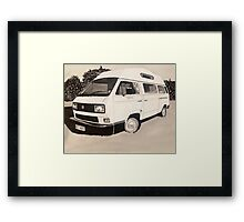 VW Type 3 Campervan Framed Print