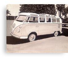 VW Type1 Bus Canvas Print