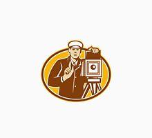 Photographer Vintage Camera Front Retro Unisex T-Shirt
