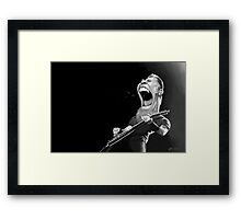 Hetfield  Framed Print