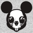 Mickey's Skull by JohnnySilva