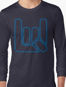 Sign of the Horns v7 Long Sleeve T-Shirt