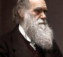 Charles Darwin by Mads Madsen