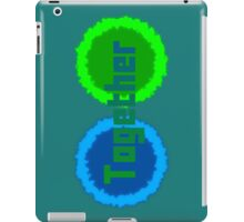 Working Together in Co-operation iPad Case/Skin