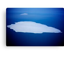 Antarctic ice Canvas Print