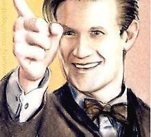 Matt Smith miniature by wu-wei