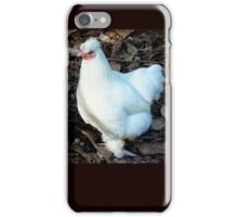 White feathers Tauranga New Zealand iPhone Case/Skin