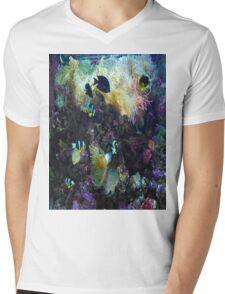 Colorful Fish Mens V-Neck T-Shirt
