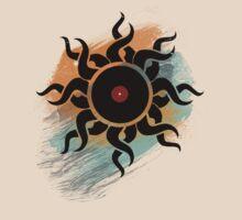 Retro Vinyl Records - Vinyl With Paint - Music DJ Design by Denis Marsili - DDTK
