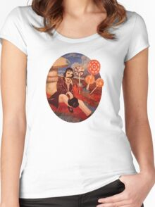 Billy Wonka 2  Women's Fitted Scoop T-Shirt