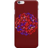 American Anchor Paint Splatter v2 iPhone Case/Skin