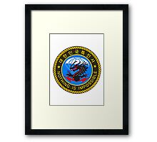 5th Special Forces Brigade (Airborne) BLACK DRAGON Framed Print
