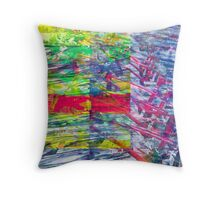 Conversations about gratitude for inherited modes. Throw Pillow