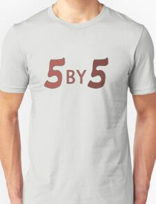 5 by 5 Unisex T-Shirt