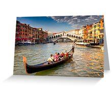 Classic Venice Greeting Card