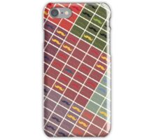 Funny Girly Mustache 4 iPhone Case/Skin