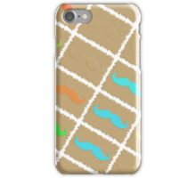 Funny Girly Mustache 5 iPhone Case/Skin