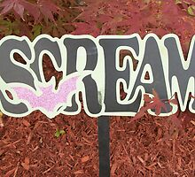 Halloween Scream by CapeCodGiftShop