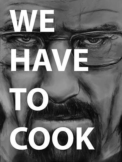 WE HAVE TO COOK by cn ART