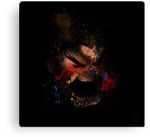 Paint Splatter Street Fighter: Honda Canvas Print