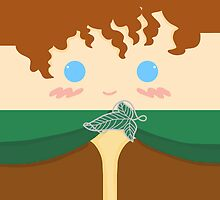 Frodo Baggins [Phone Case] by Mhaddie