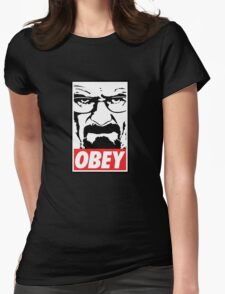 Obey Heisenberg Womens Fitted T-Shirt