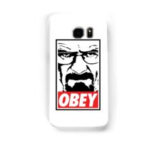 Obey Heisenberg Samsung Galaxy Case/Skin