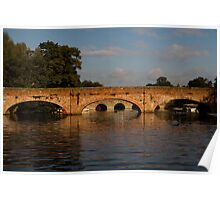 Stratford Bridges Poster