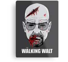 The Walking Walt Metal Print