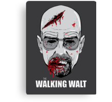 The Walking Walt Canvas Print