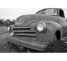 Front Side Chevy Photographic Print