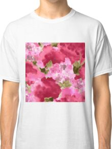 pretty pink flowers Classic T-Shirt