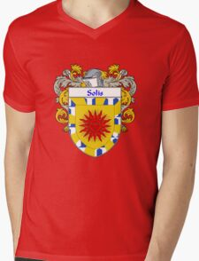Solis Coat of Arms/Family Crest Mens V-Neck T-Shirt
