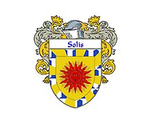 Solis Coat of Arms/Family Crest Photographic Print
