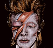 David Bowie by Pablo Díaz