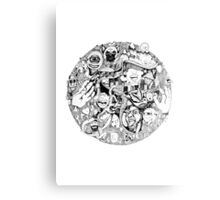 Intricate detailed circle Canvas Print