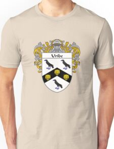 Uribe Coat of Arms/Family Crest Unisex T-Shirt
