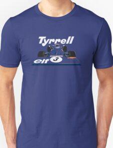 Tyrrell 001 Formula 1 T-Shirt