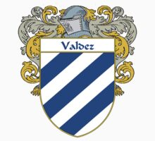 Valdez Coat of Arms/Family Crest by William Martin
