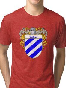 Valdez Coat of Arms/Family Crest Tri-blend T-Shirt