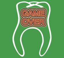 Funny Game Over Kids Tee