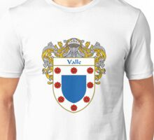 Valle Coat of Arms/Family Crest Unisex T-Shirt