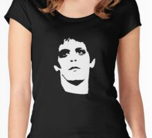 Lou Reed Women's Fitted Scoop T-Shirt