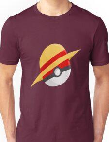 Pokeball and Luffy's hat Unisex T-Shirt